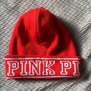 Brand new PINK VICTORIA SECRET winter hat